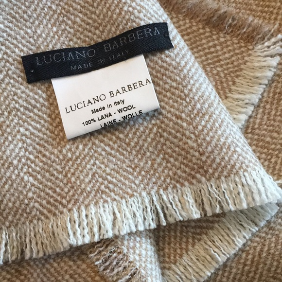 Luciano Barbera Other - Luciano Barbera 100% wool men's  scarf
